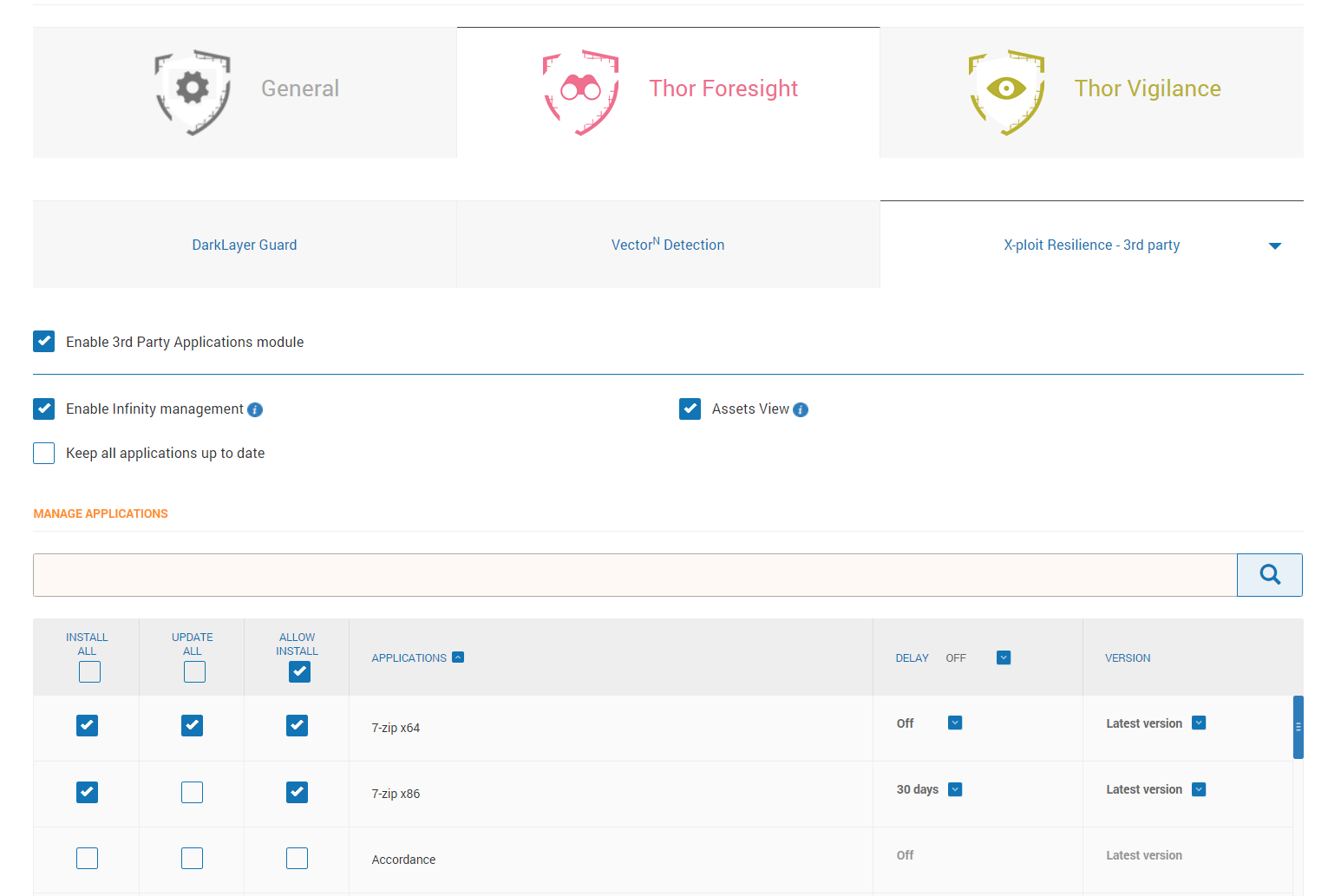 Dashboard Features: Group Policy Overview – Heimdal Security