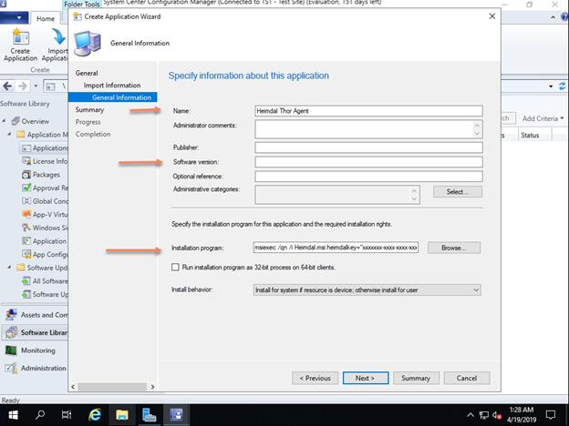 Install Heimdal Thor via SCCM – Heimdal Security